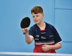Table Tennis Partnership Helps Owen Reach The Top 50